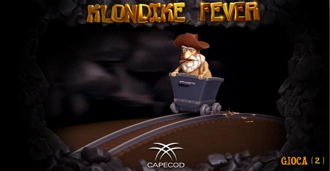 Slot machine Klondike Fever - Intro