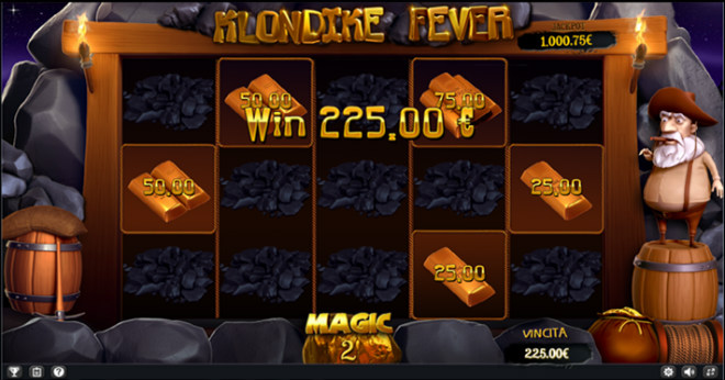 Slot machine Klondike Fever - Magic Spin