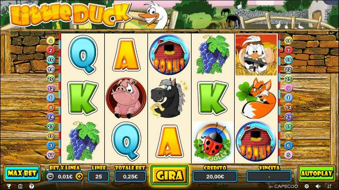 Slot machine fattoria