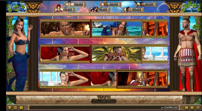 Ulisse slot machine