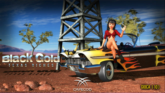 Black Gold Texas Riches Slot - Try for Free Online