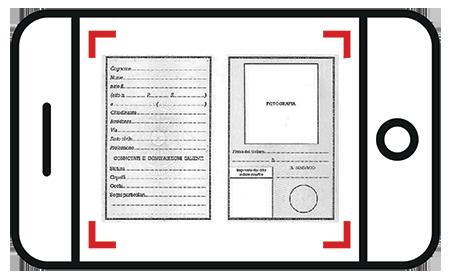 Carta di identità - Fronte