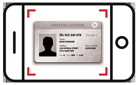 Patente di guida - Davanti