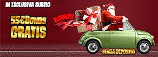 Bonus BENVENUTO 55€ Gratis Senza Deposito INVIO DOCUMENTO gioca gratis casinò online e slot machines
