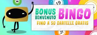 bonus bingo 50 cartelle gratis bingo online nuovi iscritti REAL bonus BIG casinò