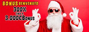 Bonus benvenuto casinò Ricarica 300% fino 3.000€ bonus slot machines casino online