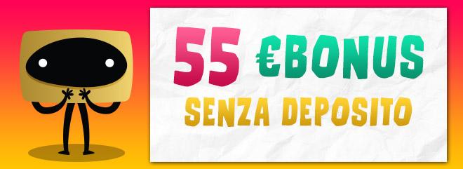 BIG Casinò 55€ gratis bonus