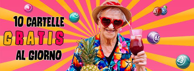 bingo online 10 cartelle gratis ogni giorno promozione BIGcasino