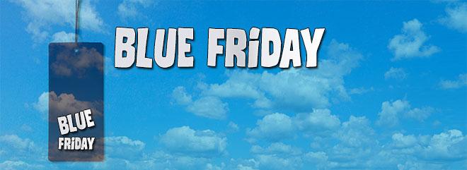 Bonus casinò slot online BLUE FRIDAY ricarica 150% fino 300€ bonus