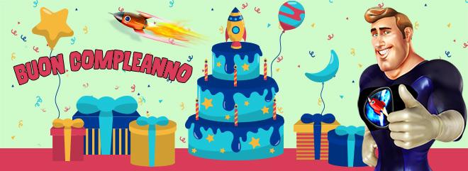 Bonus Buon Compleanno - slot machine e casino online - BIG casinò - la tua età in €€ bonus!