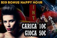 HappyHours: Carica 10 Gioca 50