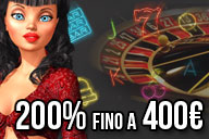 Un MEGAMONDAY: 200% fino a 400€
