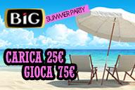 Summer Party: Carica 25 Gioca 75